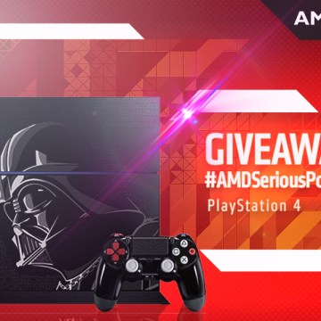 AMD Serious Power Giveaway PlayStation 4