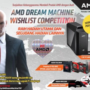 AMD DREAM MACHINE WISHLIST 2 BACKGROUND HITMAN FACEBOOK 800 X 600