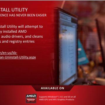 Uninstall AMD Radeon Crimson