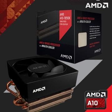 APU A10-7890K dan wraith cooler