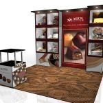 MultiQuad 10x10 trade show booth
