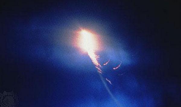 Fireball spotted in Ke...
