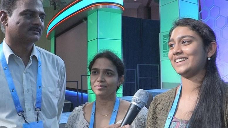 Narayana Janga, Sushma Janga and Navya Janga.