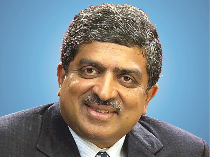 Nandan Nilekani returns to lend Aadhar to Infosys