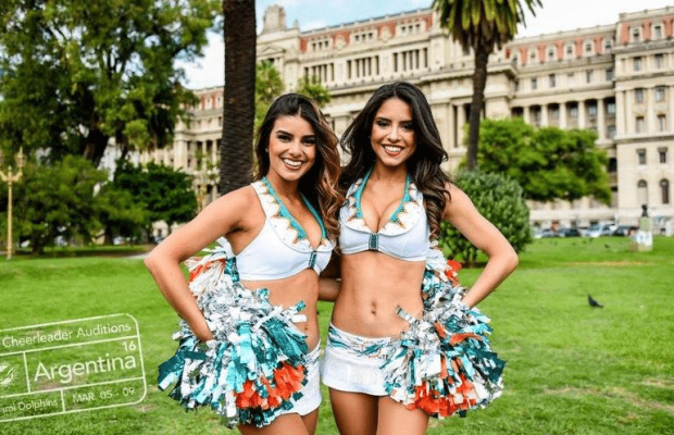 Dolphins Cheerleaders in Argentina
