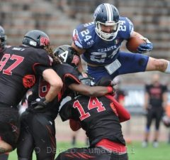 IFAF Europe - 2016 Champions League - Seamen-Wolves - action.5 - Guthrie