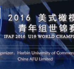 IFAF - Under 19 WC loco