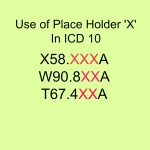 """When to use Dummy Placeholder """"X"""" with ICD 10 codes"""