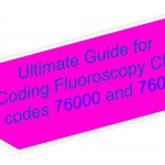 Ultimate Guide for Coding Fluoroscopy CPT codes