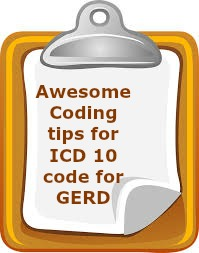 Killer tips for ICD 10 code for GERD
