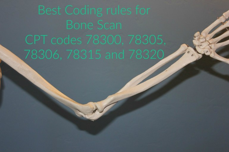 Coding rules for CPT code 78300,78305,78306, 78315 and 78320
