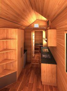 Pensacola American Tiny House Interior Inside