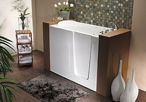Extra deep medical tub 7 inches more therapy starting at for Bathtub for tall people