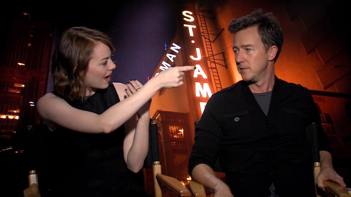 INSIDE ENTERTAINMENT PRESENTS:  BIRDMAN INTERVIEW WITH MICHAEL KEATON, EDWARD NORTON, EMMA STONE, ZACH GALIFIANAKIS, AND NAOMI WATTS