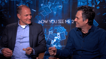 NOW YOU SEE ME 2:  WOODY HARRELSON AND MARK RUFFALO