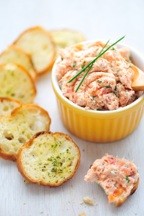 salmonmousse