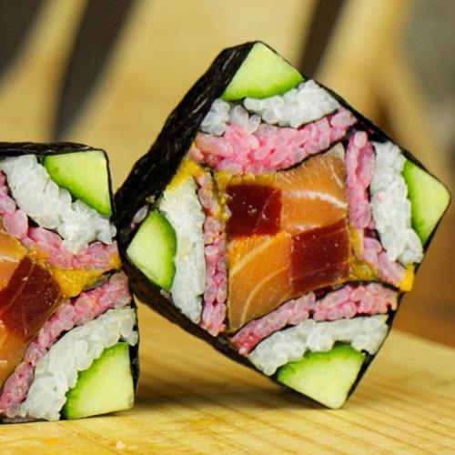 Sushi de mil colores formas y sabores amigacocina for De mil colores