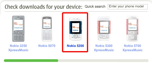 Nokia 5200 Download Website