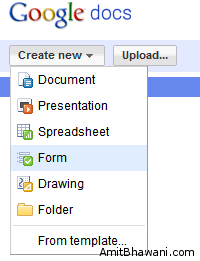 Create New Google Docs