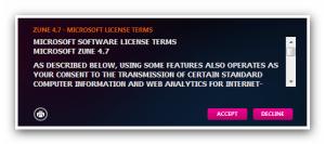 Microsoft License Terms