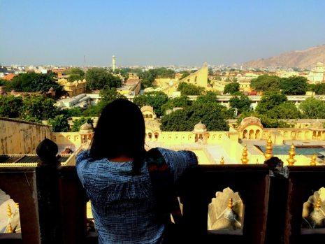 Jaipur's skyline from Hawamahal