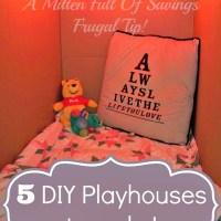 5 DIY Playhouses You Can Make