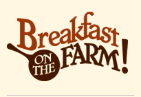 Breakfast On The Farm {FREE local event}