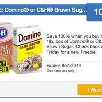 Friday Freebie: Score 1lb box of Domino or C&H Brown Sugar