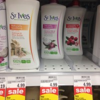 Meijers: Score A Great Deal on St. Ives Lotion w/ New Coupons