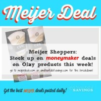 Meijer: MONEYMAKER Deals on Olay Products This Week