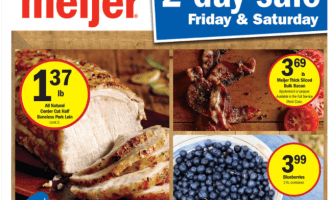Meijer Two Day Sale 7/29-7/30