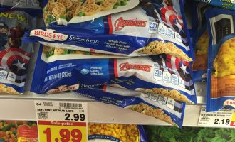 Kroger MEGA: Birdseye Steamfresh for only .49!