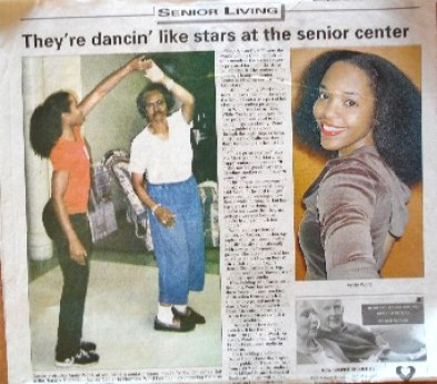 Dancin Like Stars at Seniors Ctr Article web