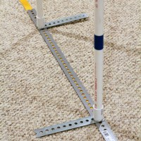 DIY: Build Your own 2x2 Agility Weave Poles