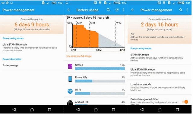 xperia m5 battery