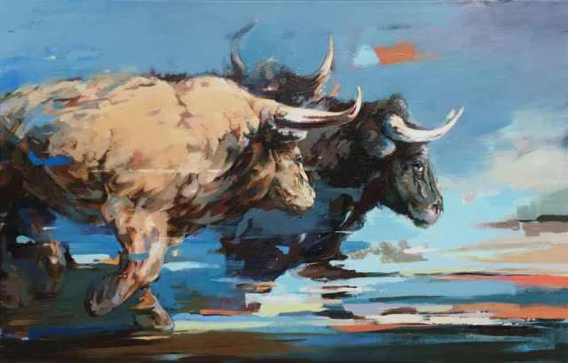scottewen-bulls-painting-1024x656