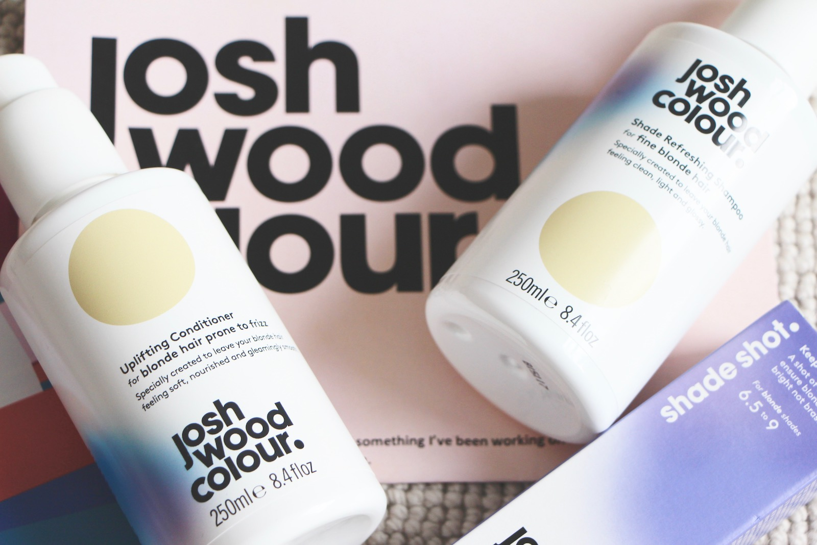 josh wood blonde shampoo and conditioner