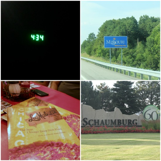 road trip placemarkers