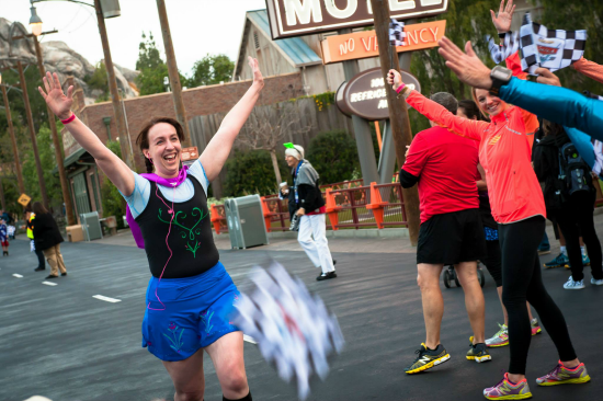 Fun Run Finish #DisneySMMoms 2014