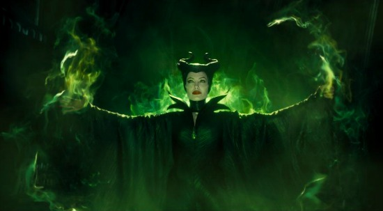 Maleficent enacts the curse