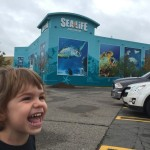 Monday Adventures: Sea Life Aquarium.