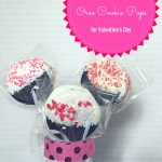 Easy Oreo Cookie Pops for Valentine's Day.