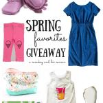 Spring Favorites Giveaway.