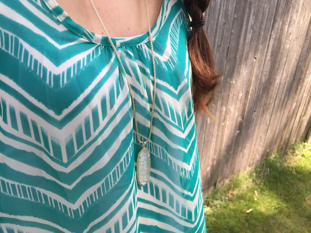 cordelia chevron tank, paper moon from my July 2016 Stitch Fix // a monkey and his mama
