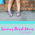 Summer Floral Moccs {& a giveaway!}