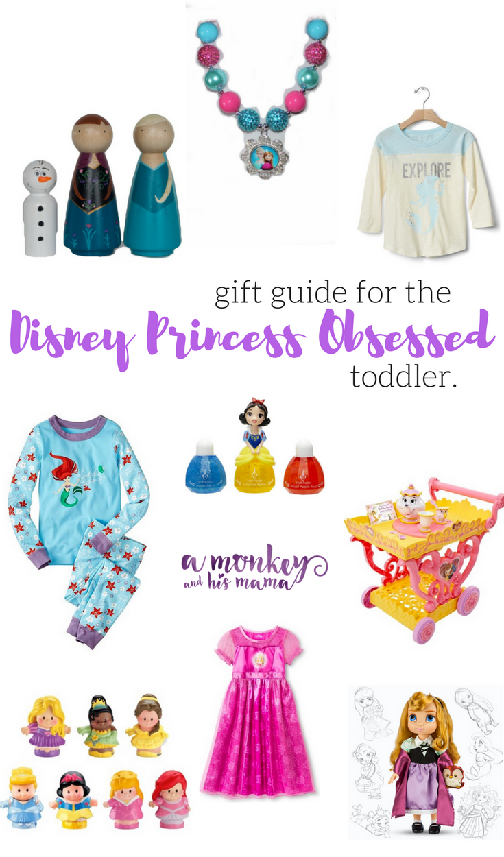gift guide for the disney princess obsessed toddler // a monkey and his mama