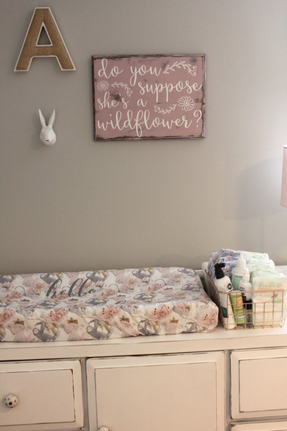 alice in wonderland nursery decor