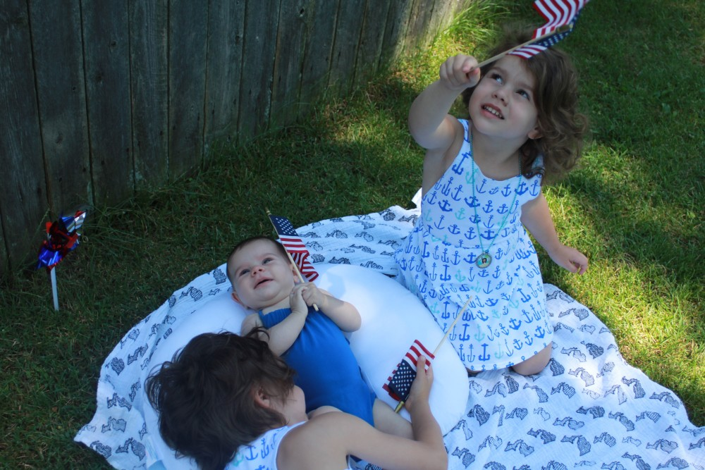 4th o july toddler style