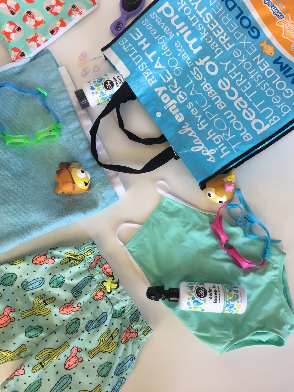 tips for making swim lessons go smoothly