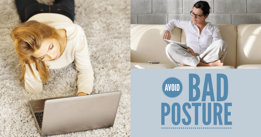 Avoid Bad Posture: Change 6 Habits